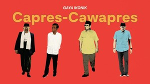 INFOGRAFIS: Gaya Busana Ikonik Capres Cawapres Indonesia