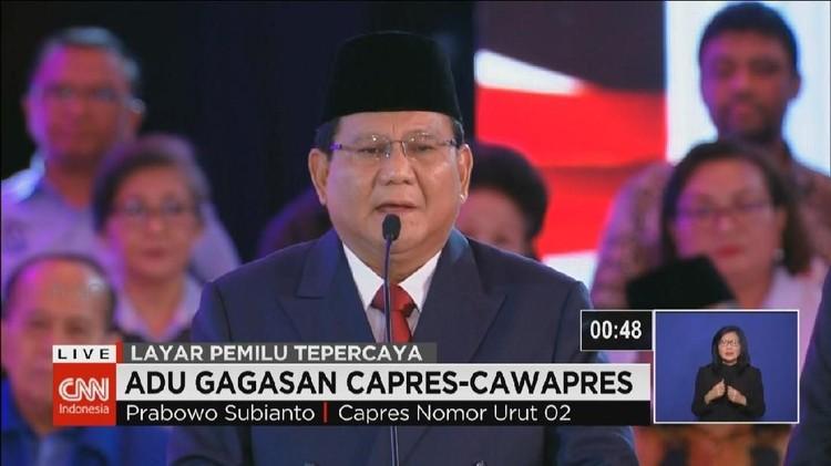 VIDEO: Prabowo Kritik Beda Pendapat di Kabinet Jokowi