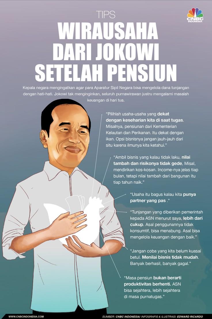 Wahai Para PNS, Simak Tips Berwirausaha A la Jokowi