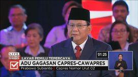 VIDEO: Prabowo Tepis Tuduhan Jokowi Soal Emansipasi Perempuan
