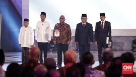 Indo Barometer: Elektabilitas Jokowi-Ma'ruf Unggul 21 Persen