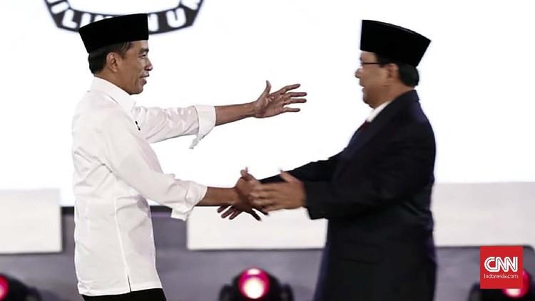 FOTO: Keriuhan Debat Capres Perdana 2019