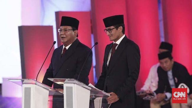 Penutup Debat Capres Prabowo: Hentikan Kebocoran