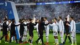 Juventus vs AC Milan bertemu pada Piala Super Italia 2018 yang berlangsung di Stadion King Abdullah Sports City, Jeddah, Arab Saudi, Kamis (16/1) dini hari WIB. (REUTERS/Waleed Ali)