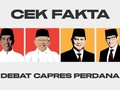 Cek Fakta Debat Capres Perdana 2019