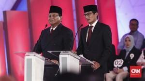 Debat Pilpres, Prabowo Janji Naikkan Rasio Pajak Jadi 16%