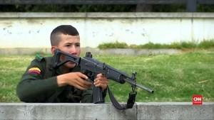 VIDEO: Bom Mobil Meledak di Akademi Polisi Kolombia