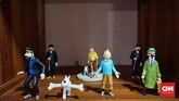 Tak jarang Karina pelesir demi Tintin. Ia juga rajin blusukan ke toko-toko unik. (CNN Indonesia/Agniya Khoiri)