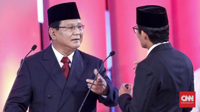 Prabowo Latihan Debat, Sandi Pura-pura Jadi Jokowi