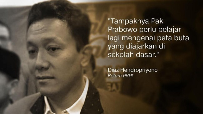 Ketum PKPI, Diaz Hendropriyono.