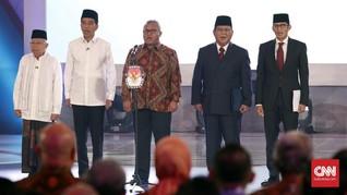 Debat Pilpres: Jokowi dan Prabowo Diprediksi Enggak 'Ngegas'