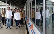 Usai Debat, Jokowi ke Garut Cek Reaktivasi Rel Cibatu-Garut