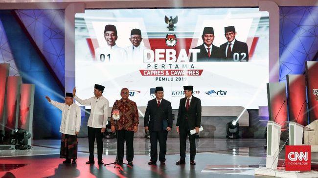 Mengukur Penguasaan Materi Debat Jokowi dan Prabowo
