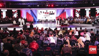 Debat Perdana Capres Jadi Buah Bibir di Media Sosial