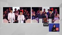 VIDEO: Momen Penting Debat Capres Perdana Pilpres 2019
