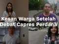 VIDEO: Kesan Warga Setelah Debat Capres Perdana