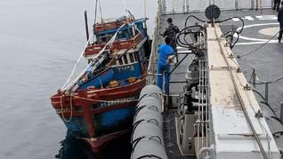 KKP Tangkap Kapal Vietnam di Perairan Natuna