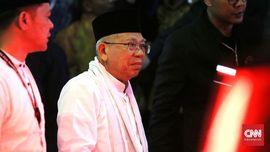 Ma'ruf Amin Ungkap Alasan Banyak Terdiam saat Debat Capres