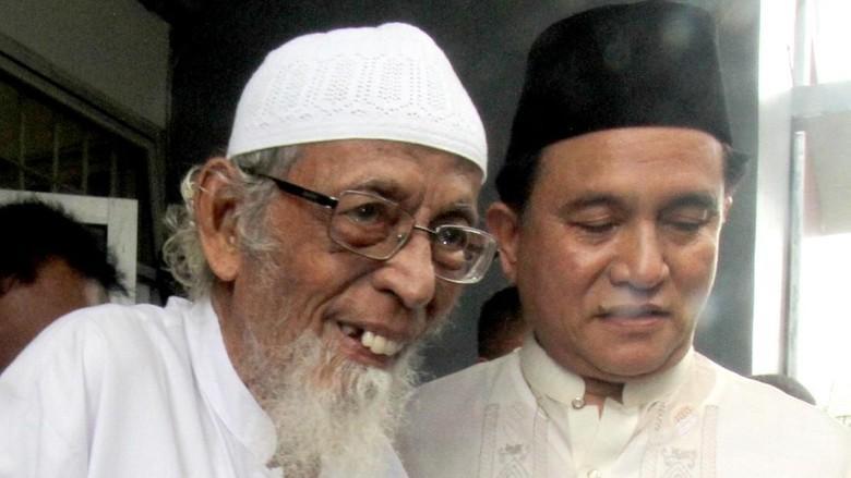 Yusril: Jokowi Minta Pembebasan Ba'asyir Dimudahkan