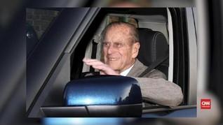 VIDEO: Pangeran Philip Terlibat Kecelakaan Mobil
