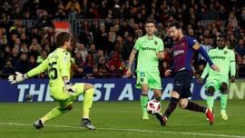 FOTO: Barcelona Menang dan Terancam Dicoret dari Copa del Rey