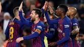 Barcelona terancam didiskualifikasi dari Copa del Rey setelah dituding Levante menggunakan pemain tidak sah di leg pertama, yakni Juan 'Chumi' Brandariz. (REUTERS/Albert Gea)