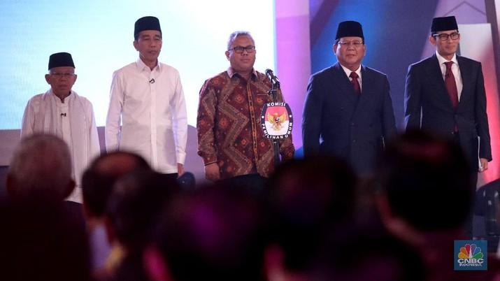 Hasil gambar untuk JOkowi Ma'ruf debat prabowo-sandi