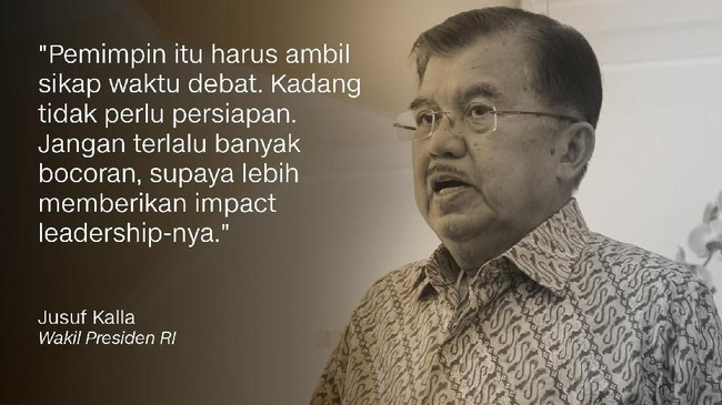 Wakil Presiden RI, Jusuf Kalla.
