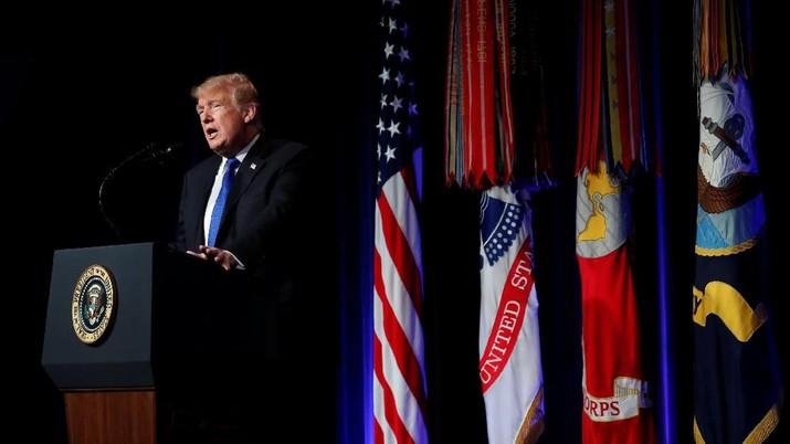 Tembok Meksiko sampai Perang Dagang Jadi Topik Pidato Trump