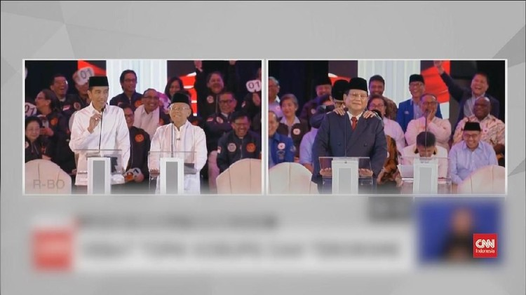 VIDEO: Momen-momen Lucu di Debat Capres Perdana 2019