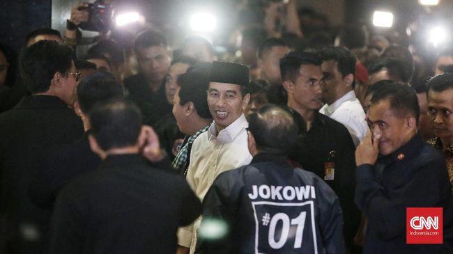Usai Debat Capres Perdana, Jokowi Mengaku Puas