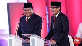 Sandi Sebut Debat Capres 2019 Seru dan 'Mantul'