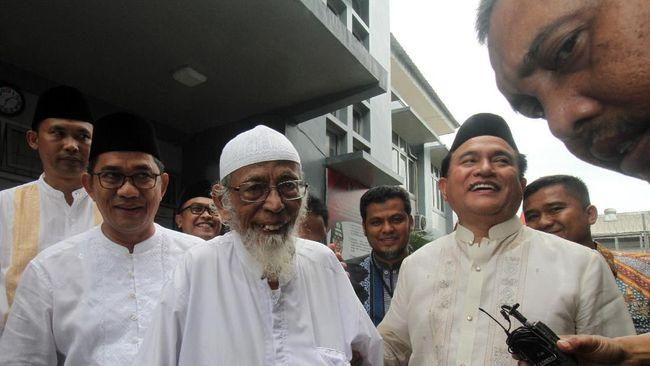 Mahfud MD: Prosedur Pembebasan Ba'asyir Keliru