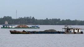 Hilangnya Pasir di Sungai Mekong