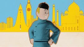 INFOGRAFIS: Jejak Kelana Tintin di Penjuru Dunia