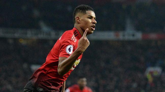 Rashford Kalahkan Rekor Ronaldo di Man United