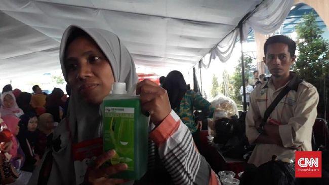 Pesanan Sabun Rp2 Miliar Jokowi Rampung, Baru Lunas 75 Persen