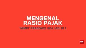 Mengenal Rasio Pajak, 'Mimpi' Prabowo Jika Jadi RI 1