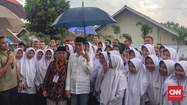 Jokowi Janji Tambah Rusun dan BLK Khusus Santri