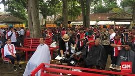 Tukang Cukur: Pak Jokowi Setia dengan Satu Model Rambut