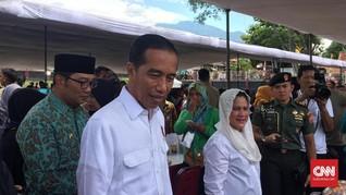 Di Garut, Jokowi Bercerita Pernah Hidup Sulit di Pinggir Kali