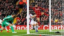 Salah Buat Dua Gol, Liverpool Kalahkan Crystal Palace 4-3