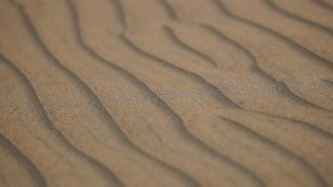 Foto-foto udara dari gurun pasir Peru membuat pemandangan Reli Dakar bak lukisan.