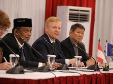 Ketemu Dubes Uni Eropa, Prabowo-Sandi Bahas Kebijakan Ekonomi