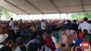 Wanita Petani Garut Mengadu ke Jokowi Tak Dapat Kartu PKH