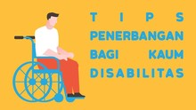 INFOGRAFIS: Tips Penerbangan bagi Kaum Disabilitas