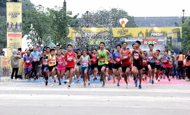 3000 Pelari Ikuri Golden Run 2019
