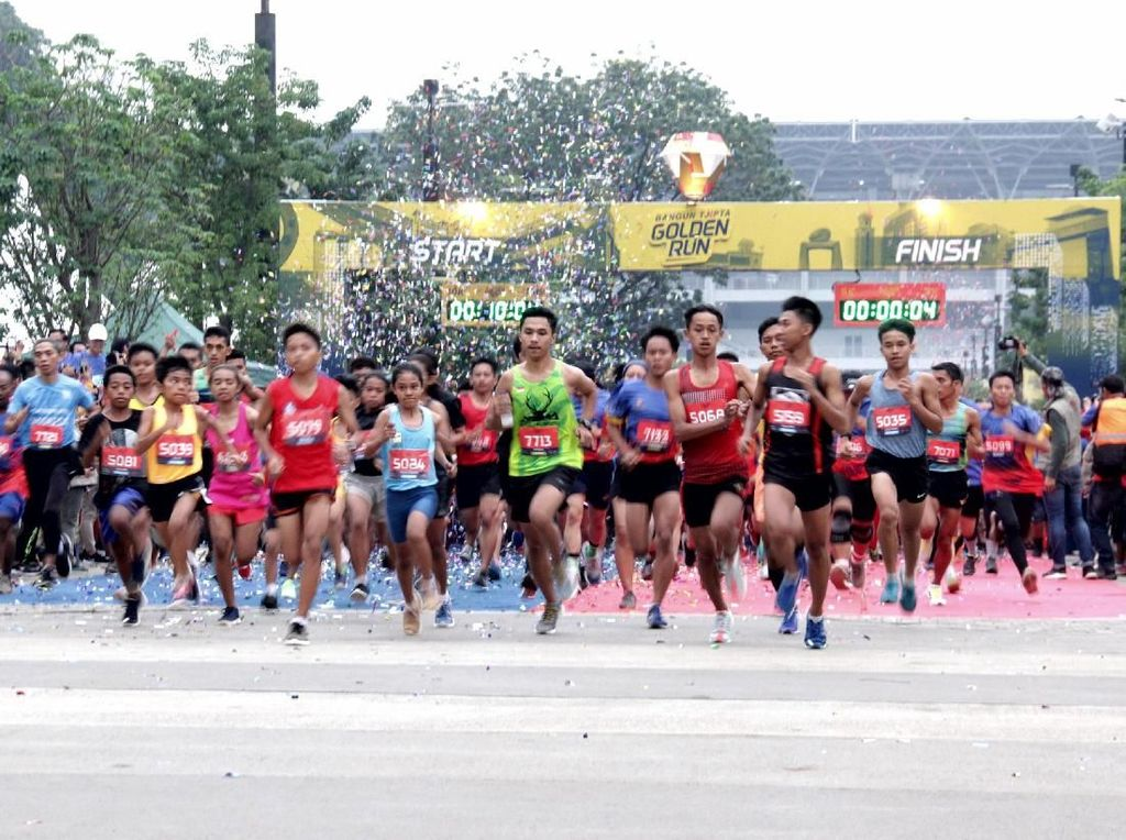 3000 Pelari Ikuri Golden Run 2019