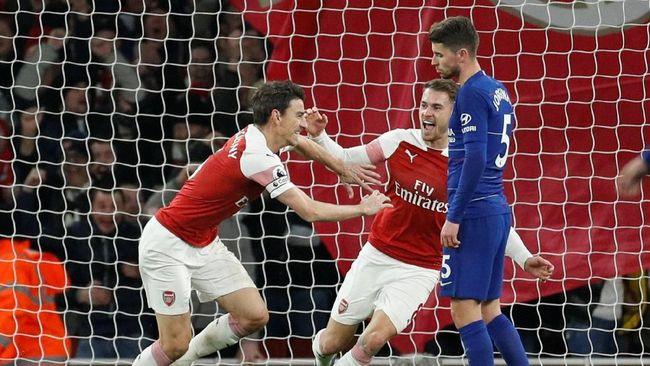 Arsenal Kalahkan Chelsea 2-0 pada Derby London