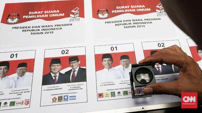 Panwaslu Jawab Keraguan soal Surat Jokowi Tercoblos: ASLI PAK